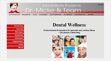 Zahnärztliche Praxisklinik Dr. Micke Schwetzingen