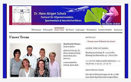 Praxis für Allgemeinmedizin, Sportmedizin und Naturheilverfahren Dr. Scholz in Schwetzingen