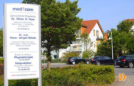 Über med!com - Ihr medizinisches Kompetenz-Center in Schwetzingen