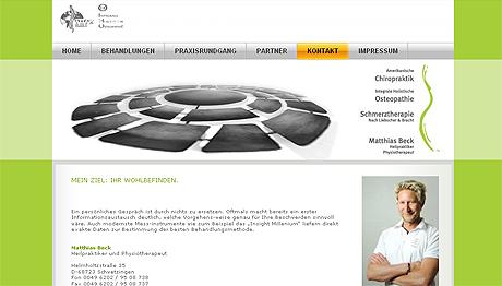 Heilpraktiker Schwetzingen Matthias Beck, Osteopathie, Chiropraktik, Schmerztherapie