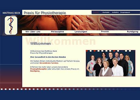 Physiotherapie M. Beck und Kollegen